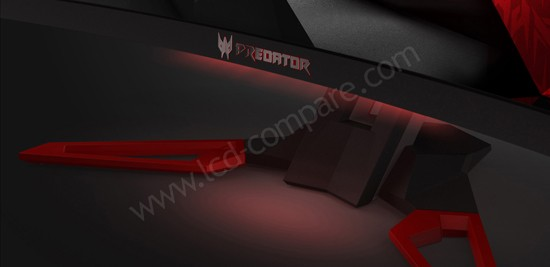 Acer Predator Z35 : Lumière d'ambiance