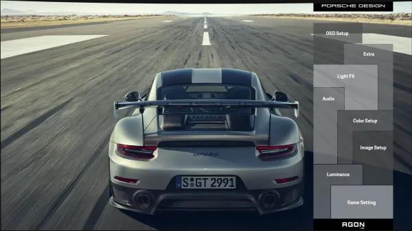 OSD Porsche dédié