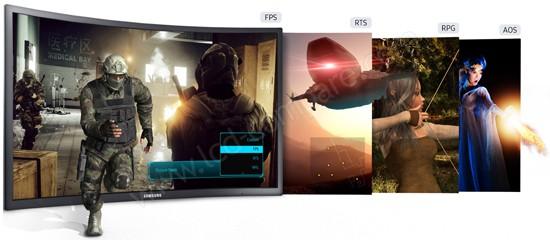 Samsung C24FG70 : Modes de jeu prédéfinis