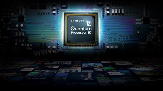 Samsung Q950R : Processeur