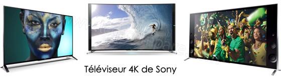 Téléviseur Sony 4K en 2014