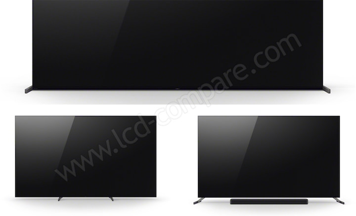 Série Sony A90J - Pied triple position