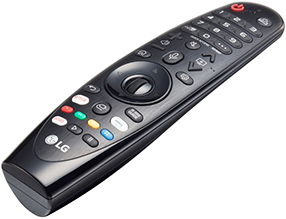 Télécommande Magic Remote des TV LG 2019