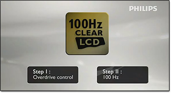 100Hz Clear LCD