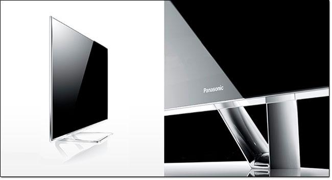 Design Glass & Metal des modèles Panasonic Smart Viera 2013