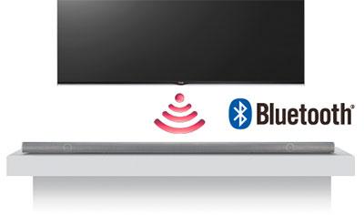 Visuel représentant la fonction LG Sound Sync Wireless