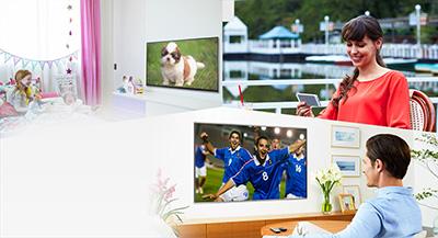 Dispositif de TV Multiroom Panasonic