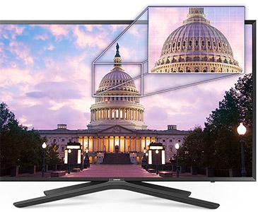 Visuel représentant une TV Samsung équipées de la technologie Micro Dimming Pro