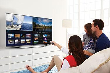 Samsung Multi Link Screen