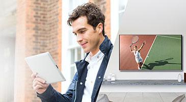 Panasonic TV Anywhere tablette
