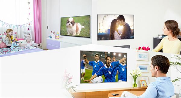 Système de TV Multiroom Panasonic In-House TV Streaming