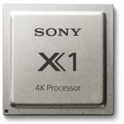 Visuel du processeur Sony X1 4K