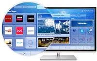 Logo Smart TV Toshiba