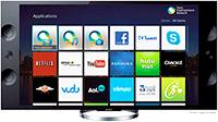 Logo Smart TV Sony