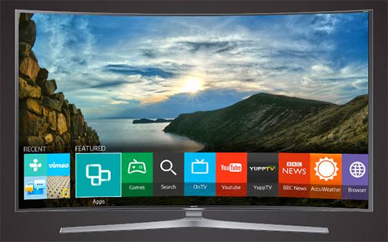 Smart TV Samsung avec interface Tizen