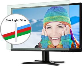 Système de réduction de lumière blueue Blue Light Filter présent dans certains écrans Acer