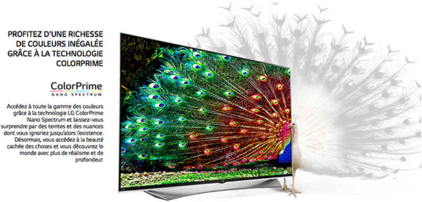 LG Super UHD TV : ColorPrime