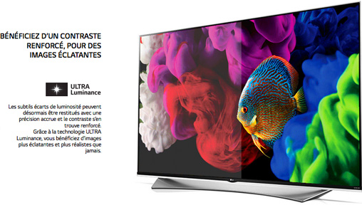 LG Super UDH TV : Ultra Luminance