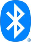 Visuel représentant le logo bluetooth