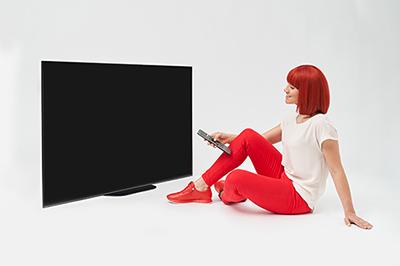 Photo d'une TV OLED Sony AG9 - (crédit : Messe Berlin)