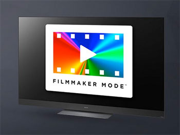 Illutration du mode filmmaker sur les TV Panasonic - (crédit : Panasonic)
