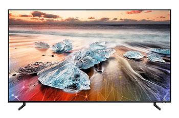 Photo de la TV Samsung 8K 55 pouces QE55Q950R - (crédit : Samsung)