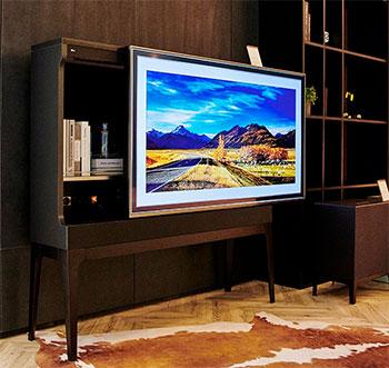 Photo de la TV Objet LG - (crédit : LG)