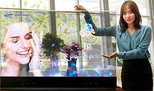 IFA 2015 : Samsung expose un écran OLED transparent pour les professionnels