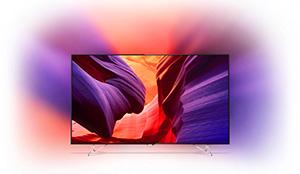 IFA 2015 : La TV Ultra HD Philips AmbiLux est capable de projeter des images sur le mur situé derrière