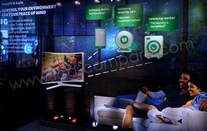 IFA 2015 : La TV au centre de la maison connectée pour Samsung
