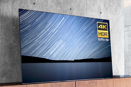 Visuel représentant une TV OLED Sony 4K HDR
