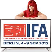 TV à l'IFA 2015