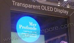 IFA 2015 : Samsung dévoile son écran OLED transparent à usage professionnel