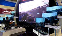 IFA 2015 : Skyworth créé un simulateur gigantesque complété avec des TV OLED 4K