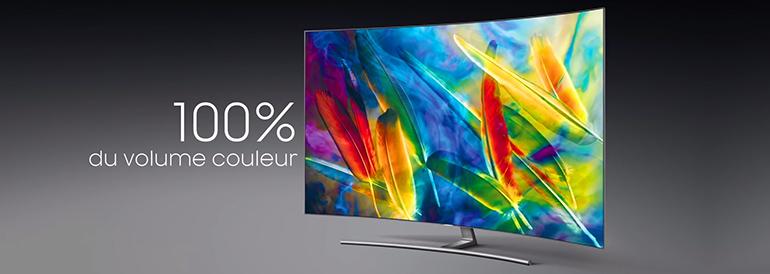 Liste des TV Samsung QLED actuellement proposées par les marchands référencés sur LCD-Compare