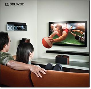 TV 3D sans lunettes Dolby 3D