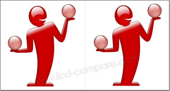 Illustration image 3D side by side