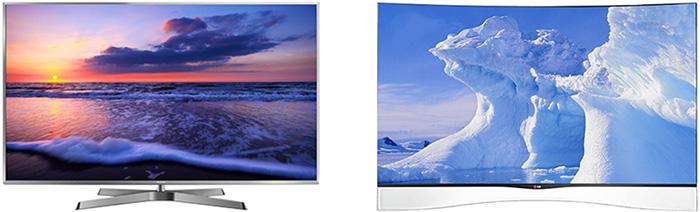 TV 3D LCD et OLED