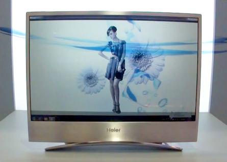 TV OLED transparente de Haier