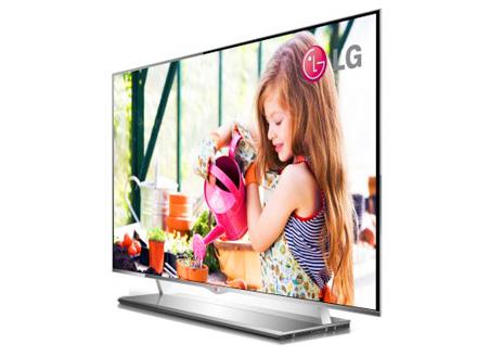 Illustration de la TV WOLED LG