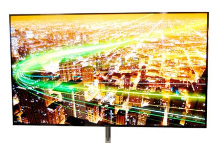 Illustration de la TV Super OLED 55 de Samsung