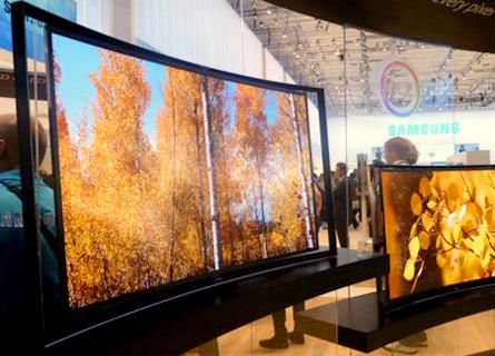 TV OLED Incurvée Samsung
