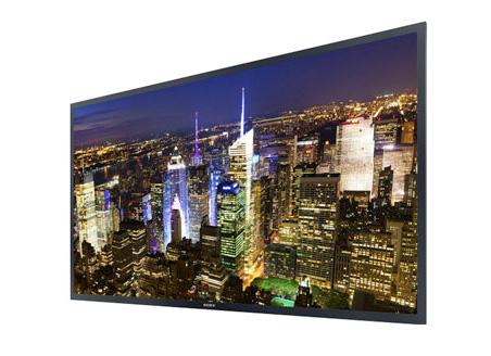 Illustration du prototype de TV OLED Ultra HD Sony