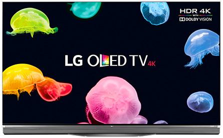 Photo d'une TV OLED LG E6V