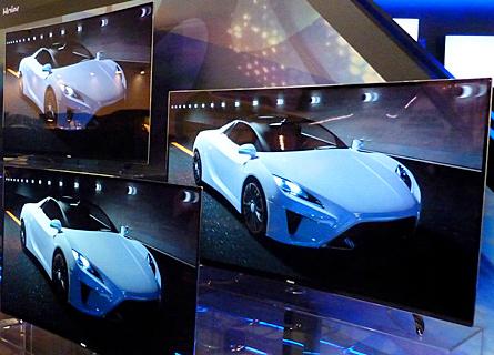 Illustration de la TV OLED incurvée 55 pouces de Haïer