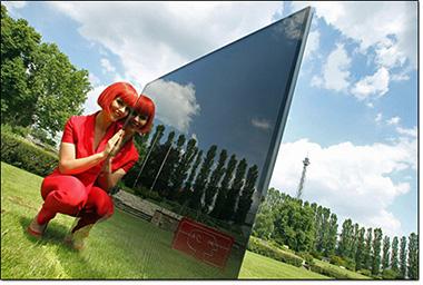 TV LED Philips présentée à Berlin durant le salon IFA 2013