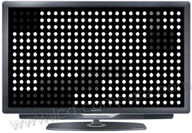 TV LCD Rétroéclairage Full LED en local dimming