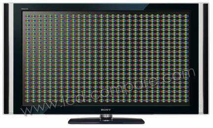 TV LCD Rétro-éclairage Full LED RVB avec local dimming