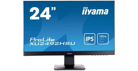 Iiyama prolite xu2492hsu b1 24 pouces fiche technique for Moniteur ips 24 pouces