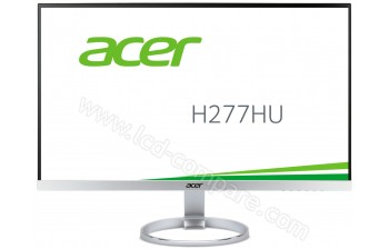 ACER H277HUsmipuz - 27 pouces - A partir de : 483.99 € chez Monsieur Plus chez RueDuCommerce